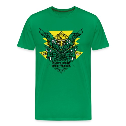 Eagle Shirt - Alpine Commencal - GREEN - Männer Premium T-Shirt