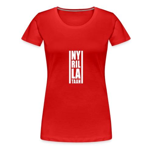 Ny rillataan naisten t-paita - Naisten premium t-paita