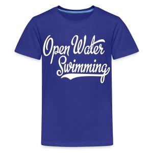 Swimming - Koszulka młodzieżowa Premium