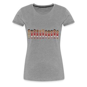 Women T-Shirt - Vermelhos de Portugal 2013 - Women's Premium T-Shirt