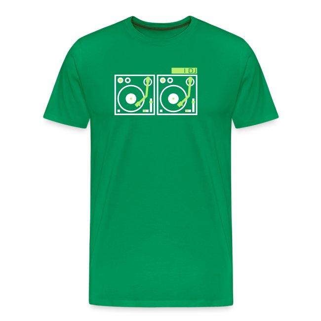 I DJ - with 2 Vinyl Turntables - 2 color flex
