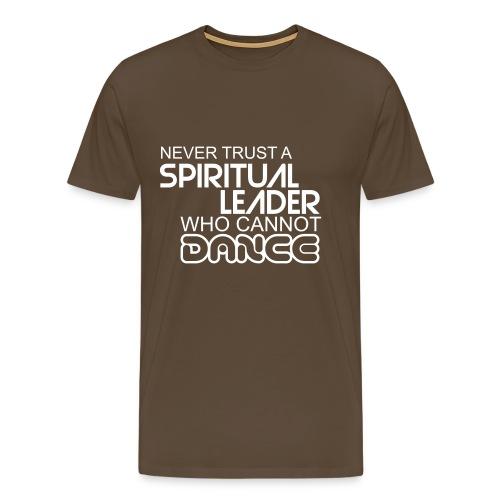 Spiritual Leader - Mannen Premium T-shirt