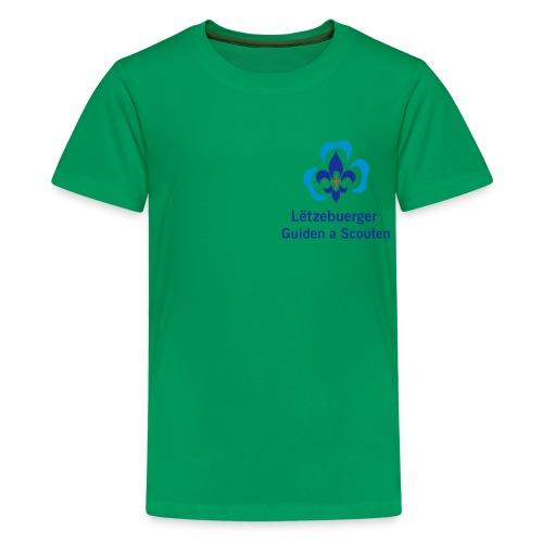 LGS offiziell - Teenager Premium T-Shirt