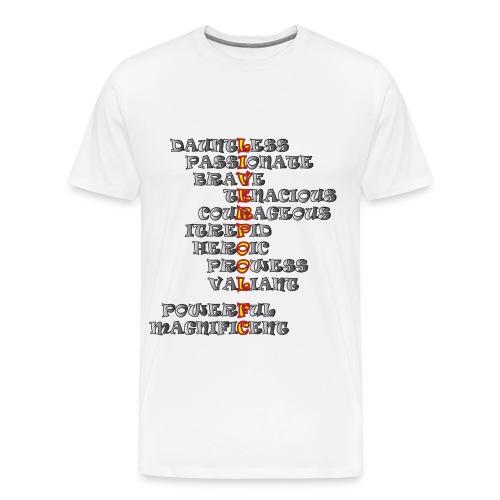 Liverpool feelings (Mens standard fit) - Men's Premium T-Shirt