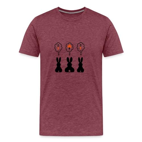 T-shirt trois lapins - T-shirt Premium Homme