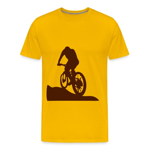 mountain bike t-shirt - Men's Premium T-Shirt