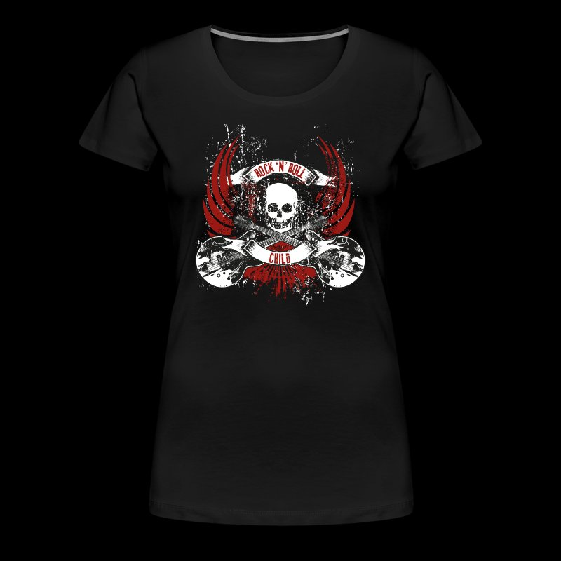 Rock-n-Roll child - Frauen Premium T-Shirt