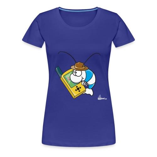 Geocaching Garnele - Frauen Premium T-Shirt