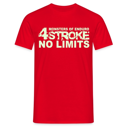 4 Stroke - No Limits - Männer T-Shirt