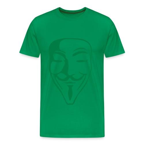 Spezial-Flexdruck, 19,4 cm x 29,8 cm - Männer Premium T-Shirt