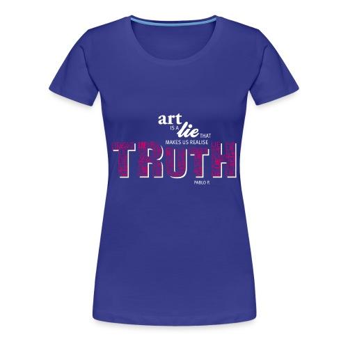 TRUTH Collection tr - Frauen Premium T-Shirt