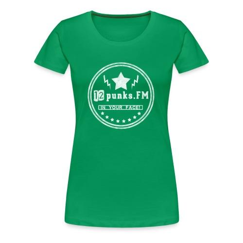 Women's Shirt - Green  - Frauen Premium T-Shirt