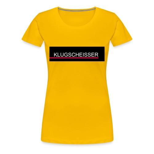 Klugscheisser Edition - Frauen Premium T-Shirt