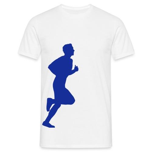running man - Männer T-Shirt