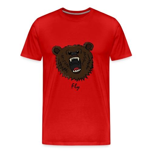 logo&text T-shirt - Men's Premium T-Shirt