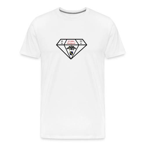 Rang-Hauptmann 60-jahre - Männer Premium T-Shirt