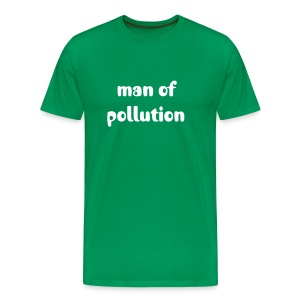 man of pollution - Männer Premium T-Shirt