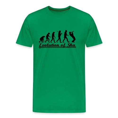 Shirt 'Evolution' - Männer Premium T-Shirt