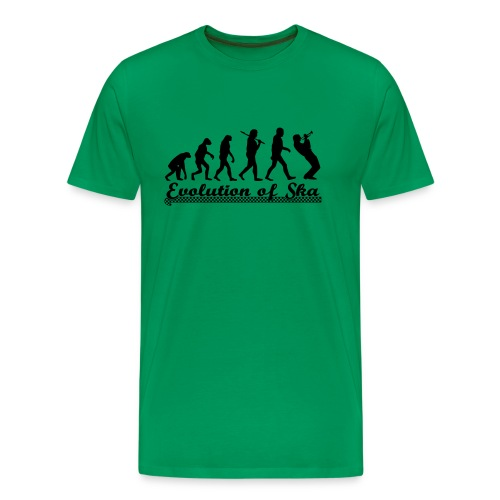 Shirt 'Evolution' - Männer Premium T-Shirt