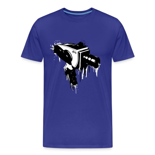 Oldschool Camara Shirt - Männer Premium T-Shirt