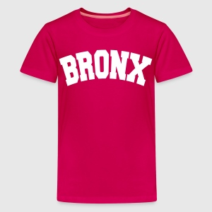 BRONX, NYC Shirts - Teenage Premium T-Shirt