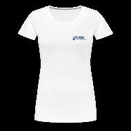 T-Shirts ~ Frauen Premium T-Shirt ~ T-Shirt PDV-Logo klein für Frauen