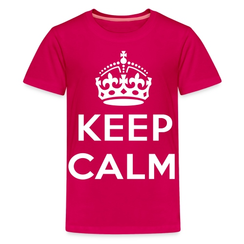#KeepCalm - Girls - Teenager Premium T-shirt