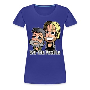 Chibi Swagger - We the People Shirt (Female) - Women's Premium T-Shirt