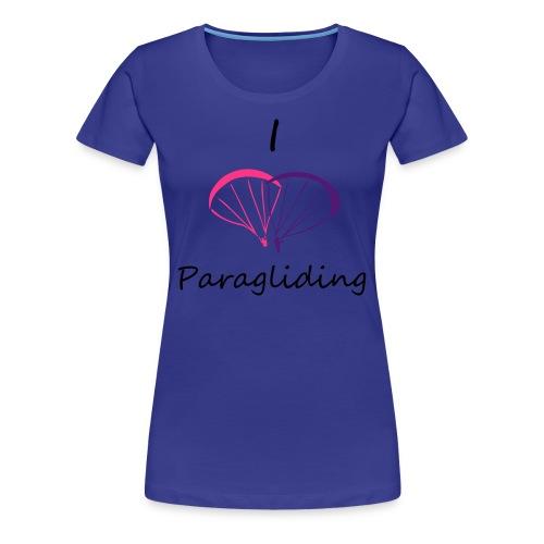 I Love Paragliding - Women's Premium T-Shirt