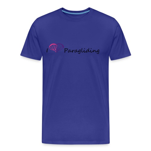 I Love Paragliding - Men's Premium T-Shirt
