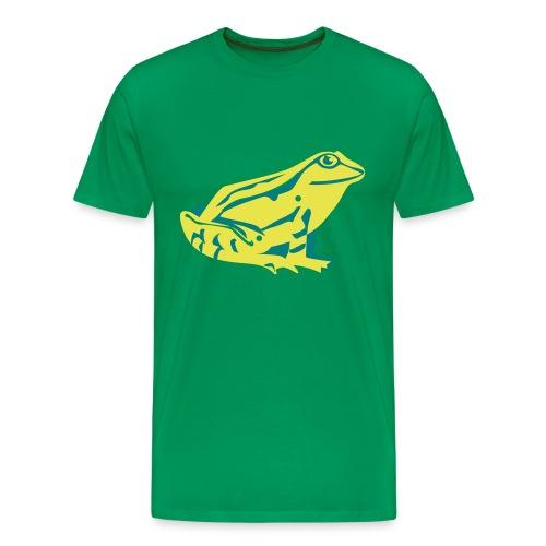 Küss mich! Frosch. - Männer Premium T-Shirt