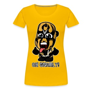Chibi Goldust - Oh Gnarly Shirt (Female) - Women's Premium T-Shirt