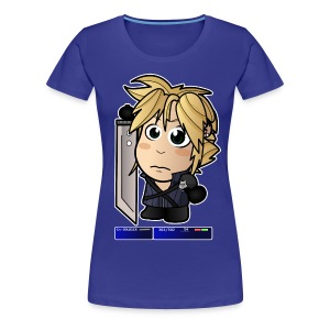 Chibi Cloud - FF7 Shirt (Female) - Women's Premium T-Shirt