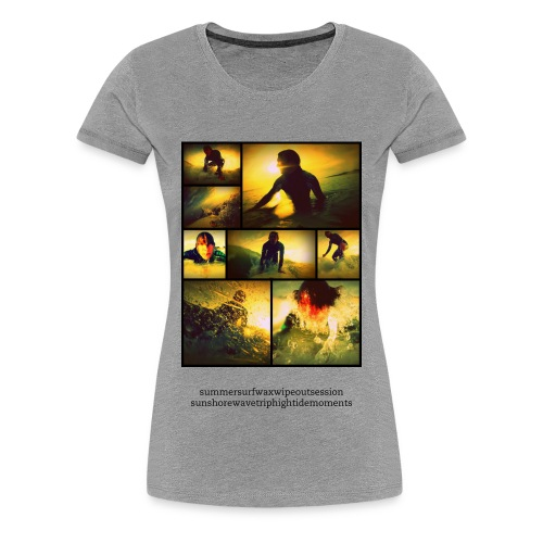 Surfshirt - France - gilrs - Frauen Premium T-Shirt