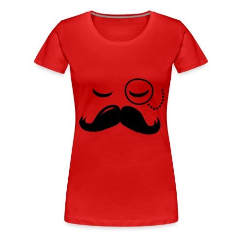 Tee-shirt Femme motif moustache #TOUGH GUYS - T-shirt Premium Femme