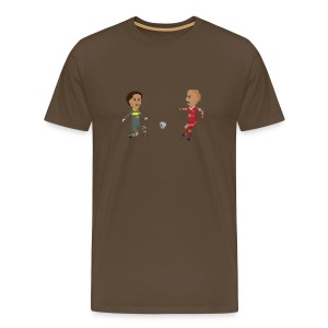 Men T-Shirt - Victory goal 2013 - Men's Premium T-Shirt