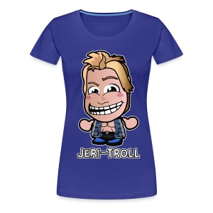 Chibi Jeri-Troll Shirt (Female) - Women's Premium T-Shirt