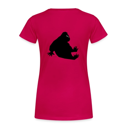 il gorilla - Maglietta Premium da donna