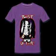 T-Shirts ~ Men's Premium T-Shirt ~ Chibi Jeff Hardy - Twist of Fate (Male)