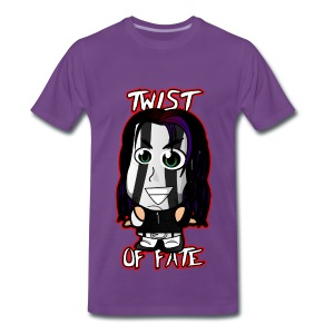 Chibi Jeff Hardy - Twist of Fate (Male) - Men's Premium T-Shirt