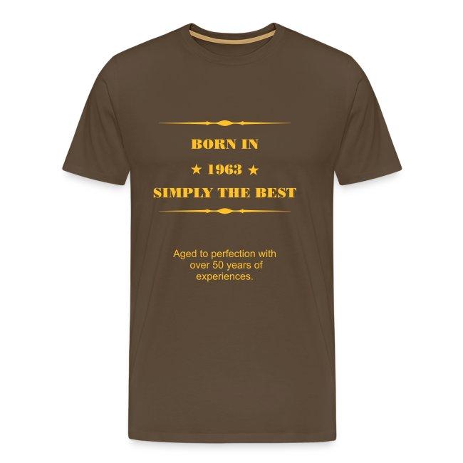 Shirt - Born in 1963