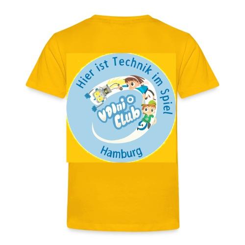 VDIni-Club Hamburg - T-Shirt  Kinder - Gelb - Kinder Premium T-Shirt
