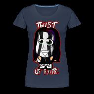 T-Shirts ~ Women's Premium T-Shirt ~ Chibi Jeff Hardy - Twist of Fate (Female)