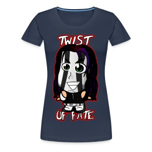 Chibi Jeff Hardy - Twist of Fate (Female) - Women's Premium T-Shirt
