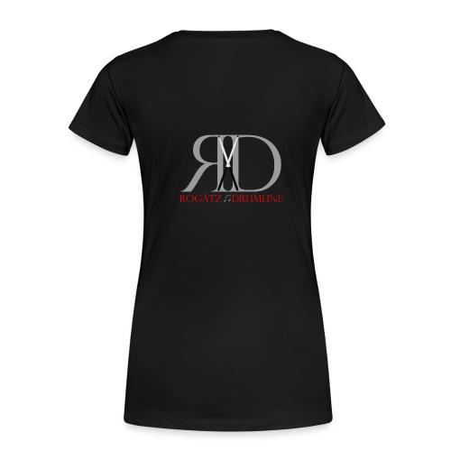 Rogätz Drumline Logoshirt - Frauen Premium T-Shirt