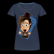 T-Shirts ~ Women's Premium T-Shirt ~ Chibi Doctor - 11th Shirt (Female)