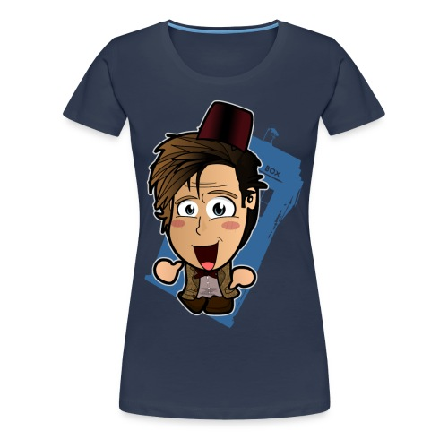Chibi Doctor - 11th Shirt (Female) - Women's Premium T-Shirt