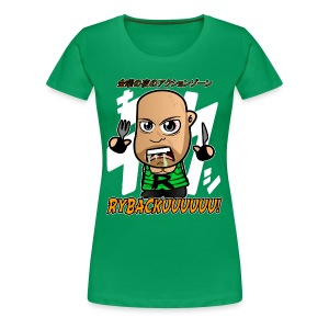 Chibi Ryback - Japanese Shirt (Female) - Women's Premium T-Shirt
