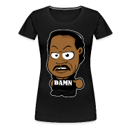 T-Shirts ~ Women's Premium T-Shirt ~ Chibi Ron Simmons - Damn Shirt (Female)