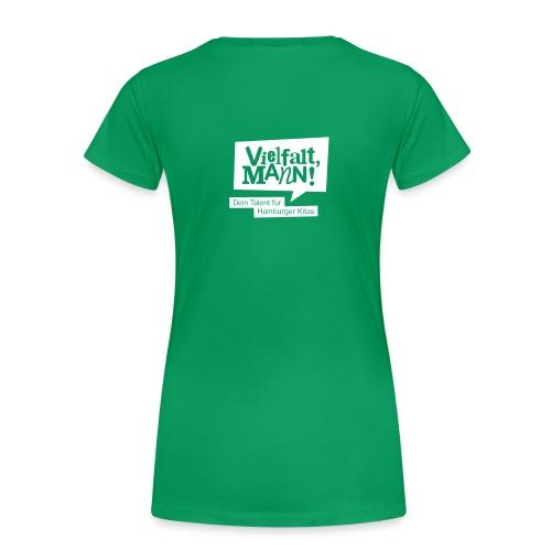 Frauen-Shirt figurbetont Motiv Guido Image - Frauen Premium T-Shirt